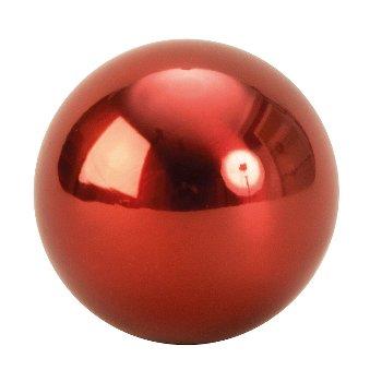 Kugeln rot Edelstahl rostfrei d=6cm