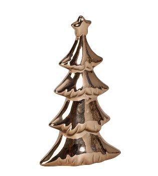 Christmas tree copper h=18cm