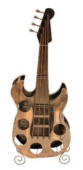 Weinregal in Form einer Gitarre h=104cm