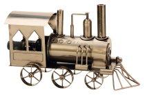Wein-Flaschenhalter 'Lokomotive' h=23cm