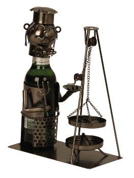 "Metal Beer-bottle holder ""Saarland"