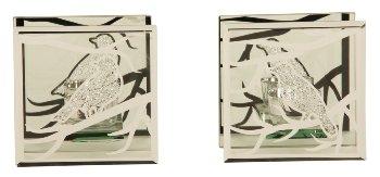 Glasteelichthalter Vögel f.1 Teelicht
