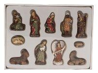 Krippenfiguren Set 11 Figuren in PVC-Box