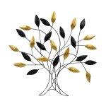 """Moderne Metall-Wanddekoration """"Baum"""""""