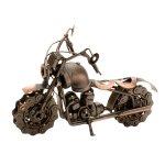 Metall-Motorrad kupfer h=15cm l=22cm