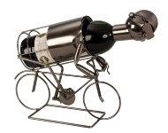 """Metal Wine-bottle holder """"racing bicycle"""
