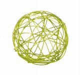 Drahtkugel grün d=3cm, 24 Stk./Beutel