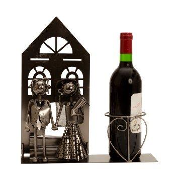 """Wein-Flaschenhalter """"Hochzeitspaar"""""""
