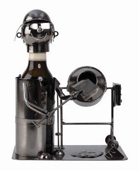 Bier-Flaschenhalter 'Bauarbeiter'(0,33l)