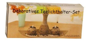 Tealightholder-set with