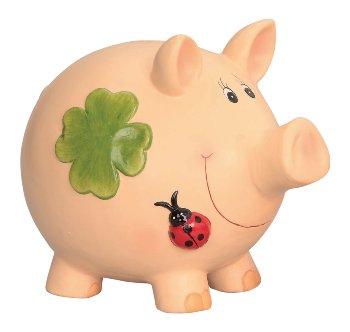 Glücks-Sparschwein h=26cm l=31cm