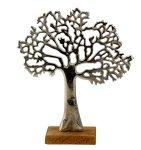 Baum auf Holzsockel h=26,5cm b=23cm
