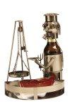 Metal beer-bottleholder 'Saarland grill'