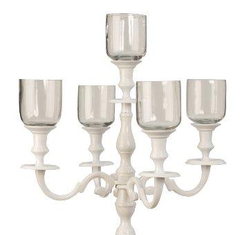 Glaseinsätze für 5-armige Leuchter