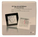 3D casting kit with picture frame