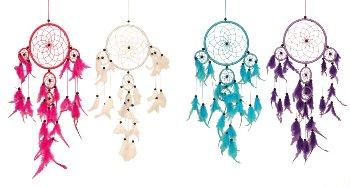 Dreamcatcher in bunten Farben d=16cm