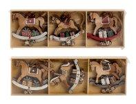 Baumschmuck Pferdchen b=8cm in Box,