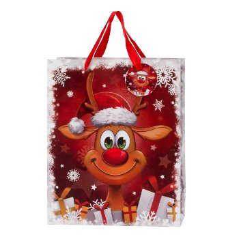 """Geschenktüte Weihnachten """"lustiges"""