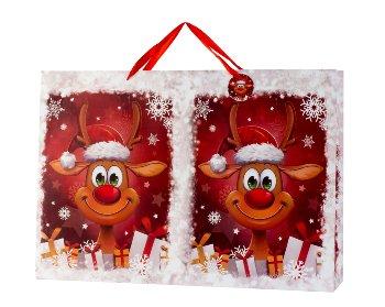 Geschenktüte XXL Querformat Weihnachten