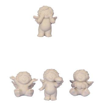 Babyengel sitzend & stehend h=5-6,5cm