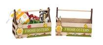 """Holz-Box """"Frohe Ostern"""" zum Befüllen"""