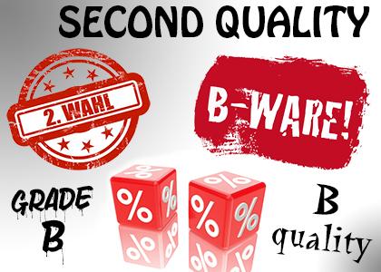 B-quality goods